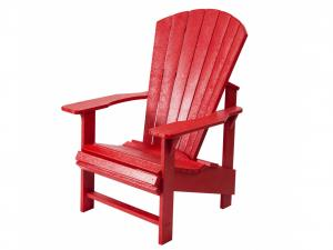 Recycled Plastic Adirondack Chair - Upright