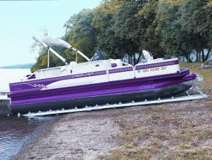 Roll-n-Go Pontoon Shore Dock