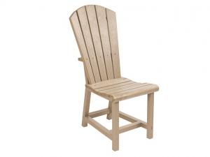 Recycled Plastic Adirondack Dining Side Chair