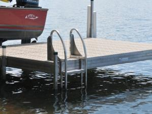 Shoremaster Pivoting Dock Ladder
