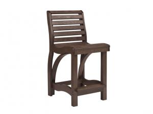 Recycled Plastic St Tropez Counter Height Chair