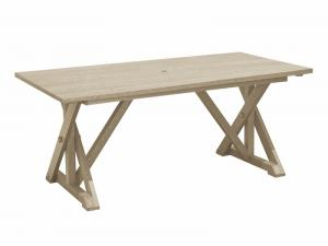 Recycled Plastic Harvest Wide Dining Table
