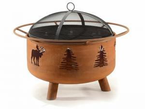 Great Canadian Fire Pit - Moose