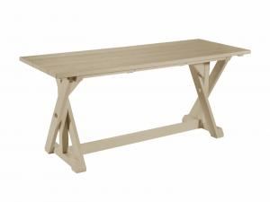 Recycled Plastic Harvest Dining Table