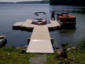 PolyDock Modular Plastic Floating Dock