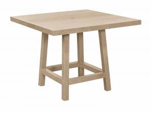 Recycled Plastic Dining Square Table