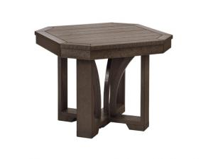 Recycled Plastic St Tropez Square End Table