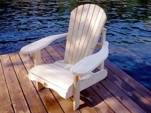 Deluxe Pine Adirondack/Muskoka Chair