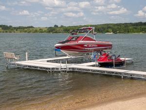 ShoreMaster Infinity TS9 Aluminum Truss Side Post Dock