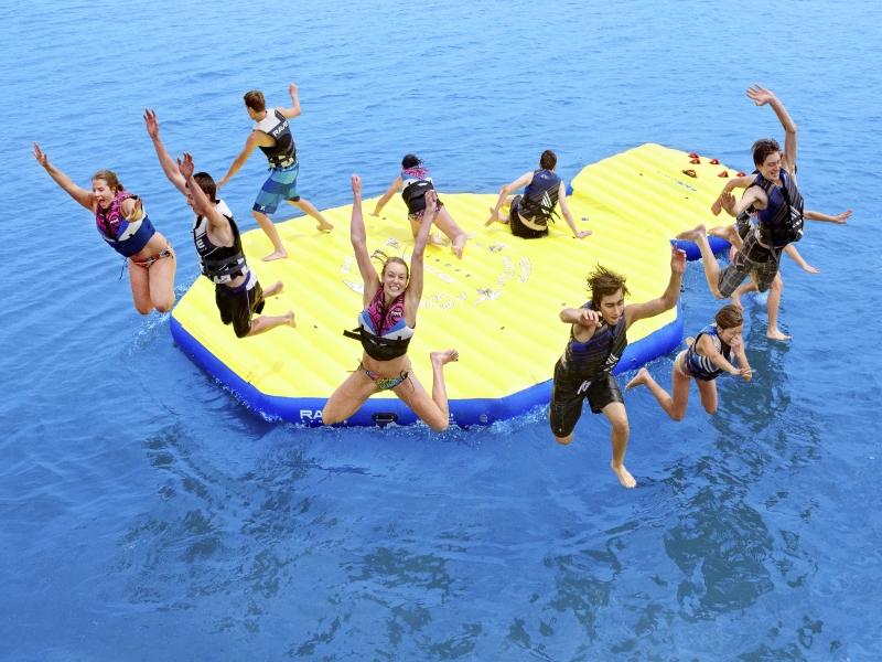 Rave Activity Island Action