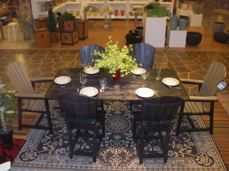 Recycled Plastic Dining Set