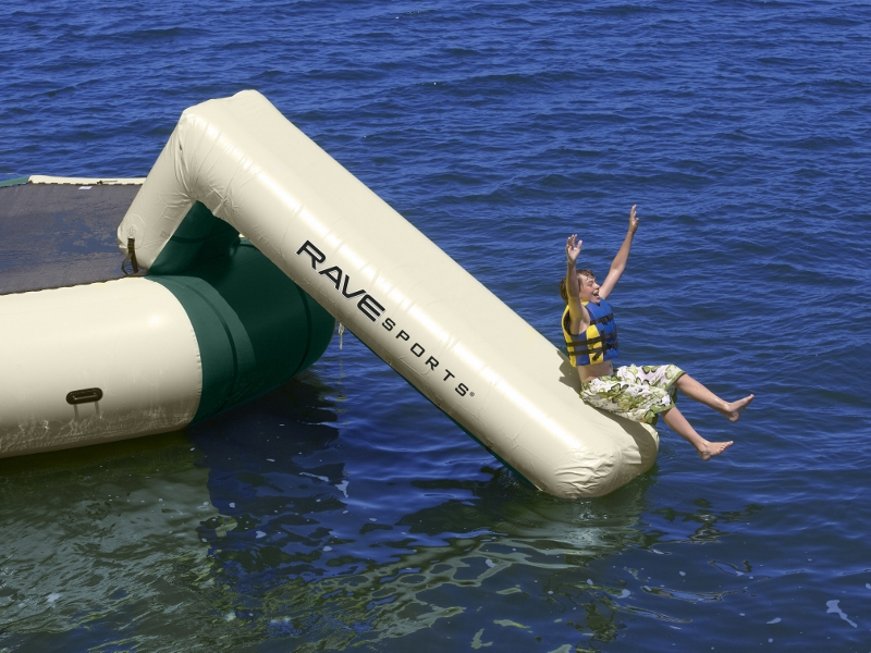 Large  Aqua Slide Northwoods