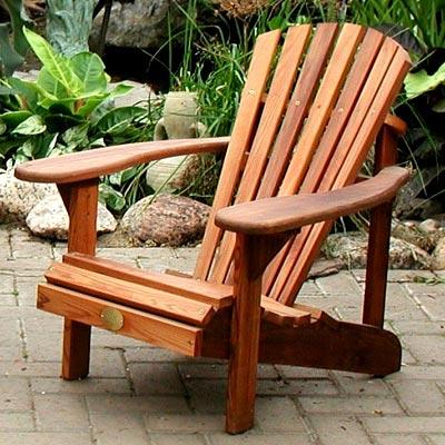 CottageSpot: Kid's Pine or Cedar Adirondack/Muskoka Chair
