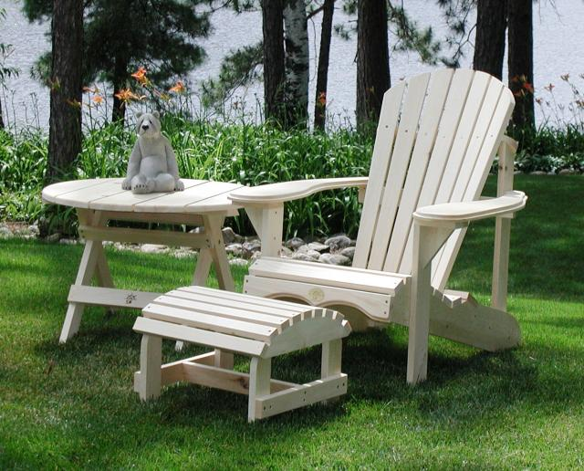 Pine Bear Chair Set