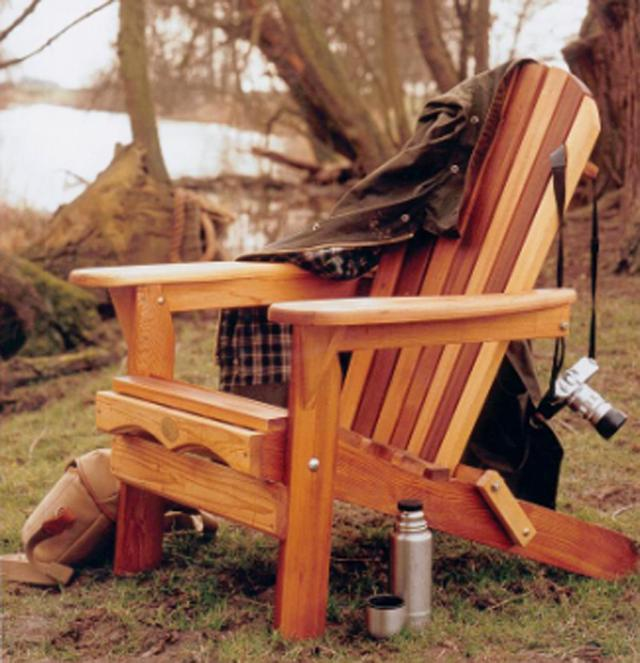 Cedar  Folding Muskoka Chair