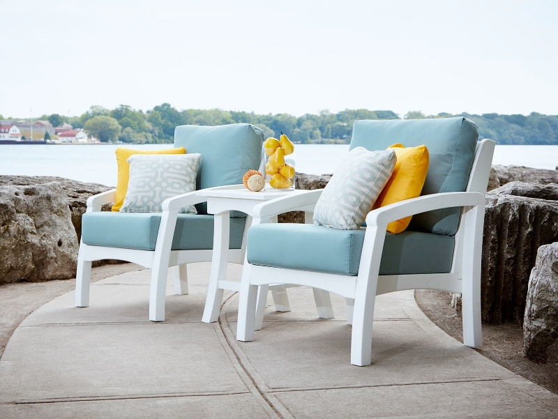 Recycled Plastic Bay Breeze Chair Grouping