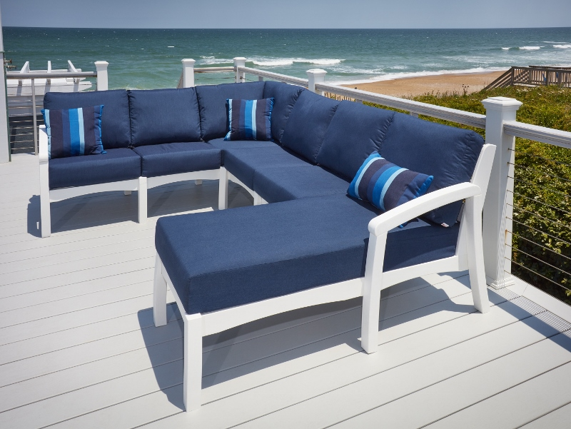 Recycled Plastic Bay Breeze Chair Sectional