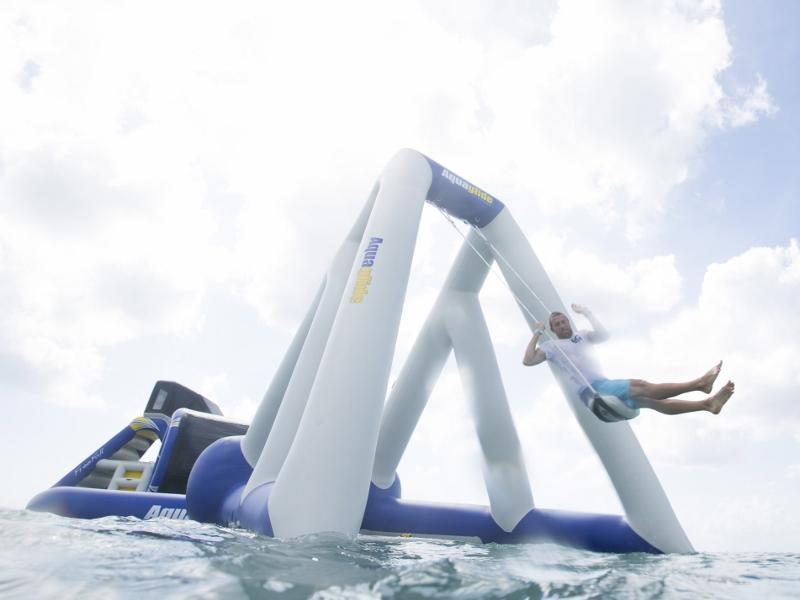Aquaglide Catapult in Action