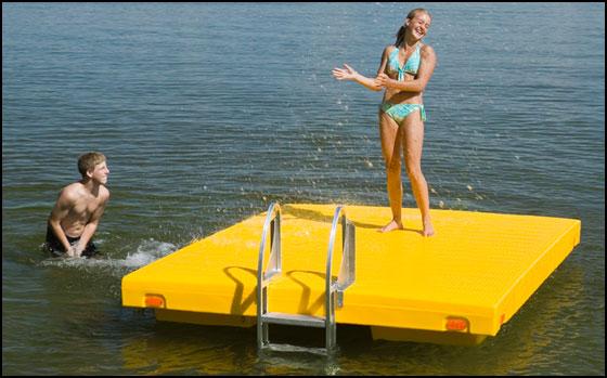 Cottagespot Shoremaster Escape Swim Raft