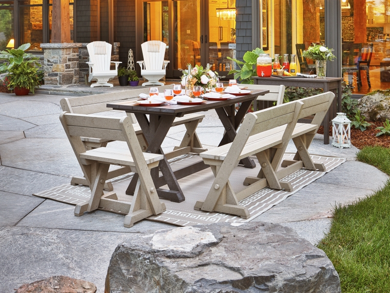 Recycled Plastic Harvest Dining Set 2