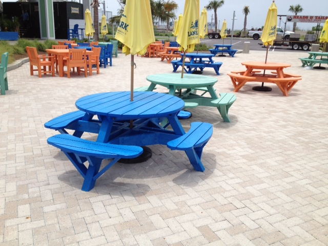 Cottagespot Recycled Plastic Picnic Table