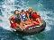Aquaglide Retro 3 Rider Towable Tube Action 4