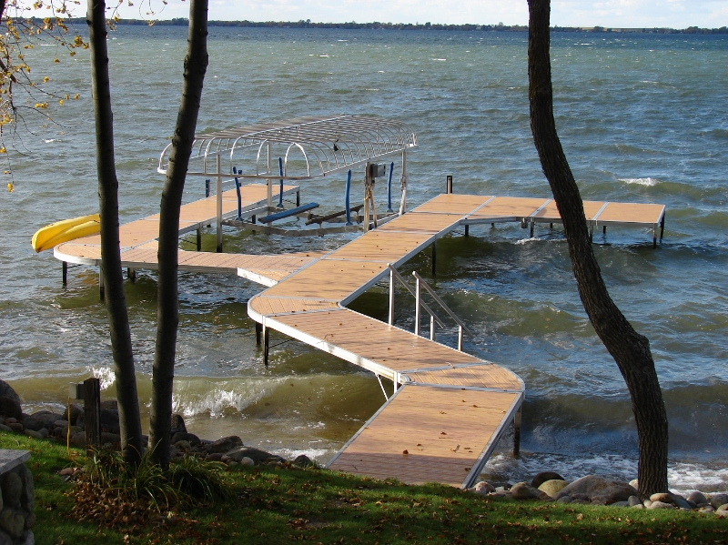 Shoremaster RS4 Rail Side Dock 2