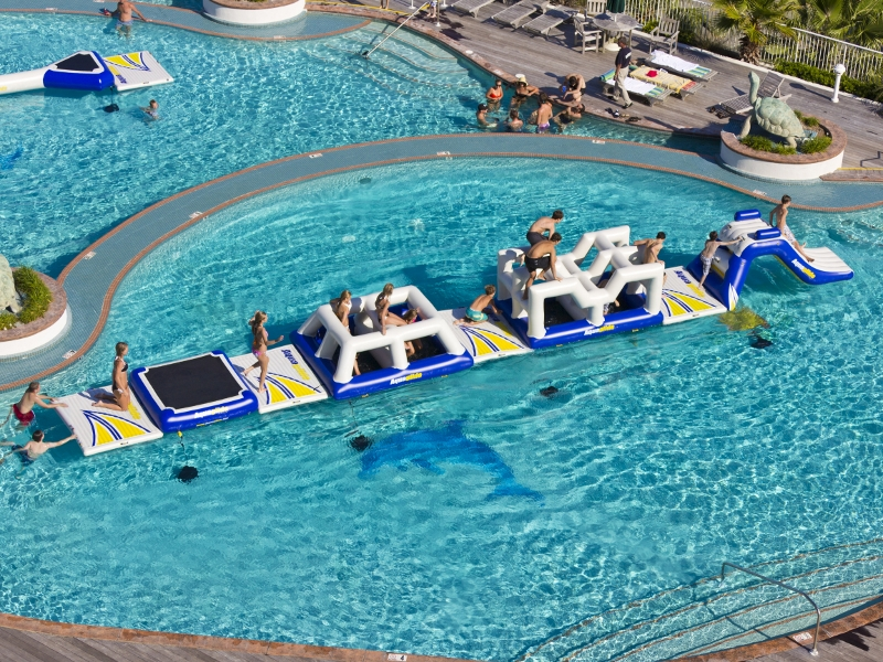 Aquaglide Challenge Track 1 Action