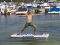 Aquaglide Yoga Mat in Action 2